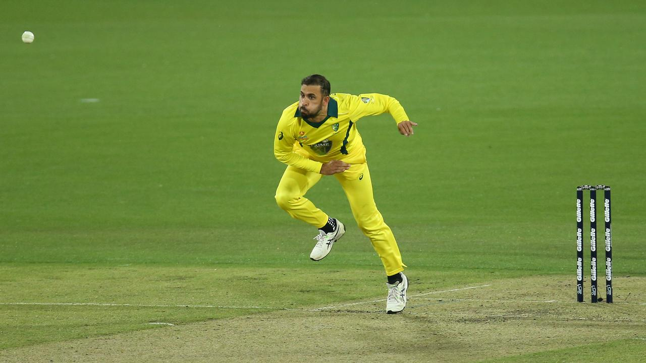 Fawad Ahmed, pictured playing for the PM's XI, has been signed by the Thunder.