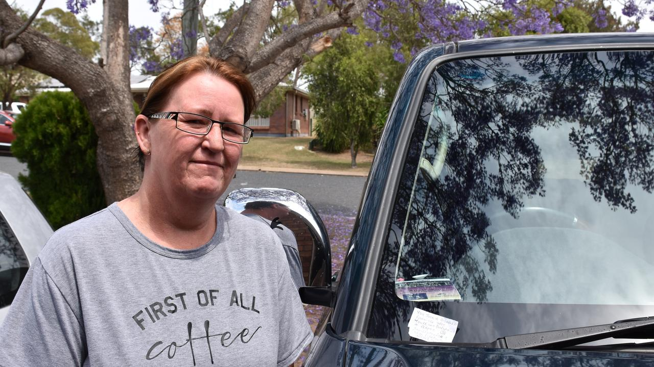 Despite having a visible disability permit, Michelle SInclair still recieves complaints that she shouldn't have one.