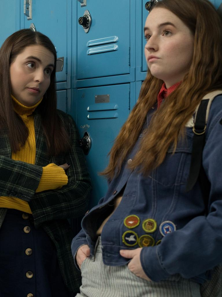 Beanie Feldstein stars as Molly and Kaitlyn Dever as Amy in Booksmart. Picture: Francois Duhamel/Annapurna Pictures