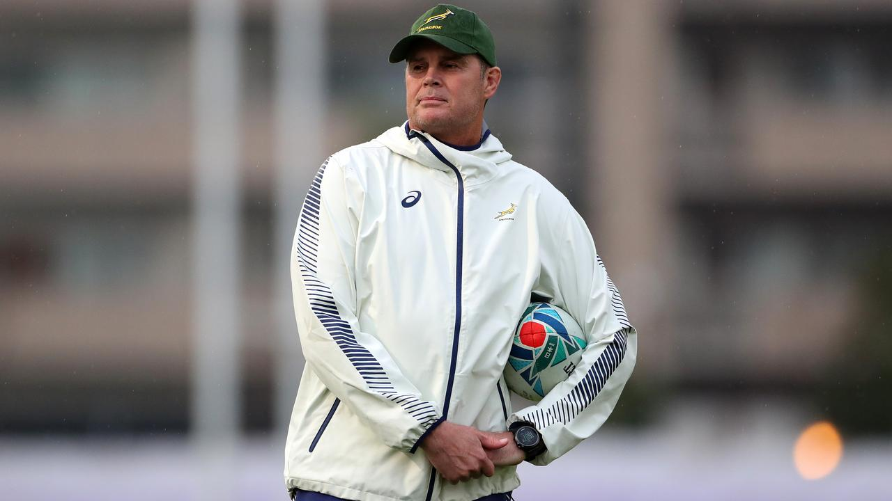 Rassie Erasmus says he is not bluffing about team selection. Picture: Getty Images