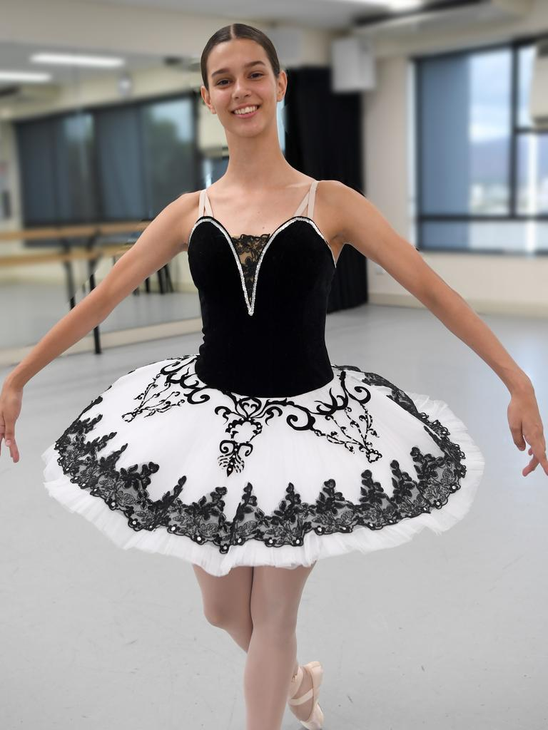 Heather Maitland has won a place in the Bolshoi Ballet Academy intensive program in Brisbane next year
