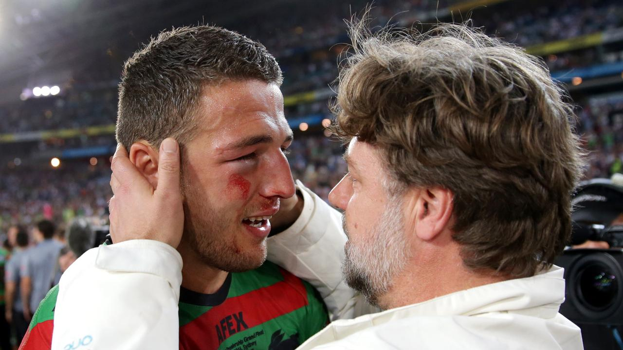 Burgess helped take South Sydney to glory. Picture by Gregg Porteous.