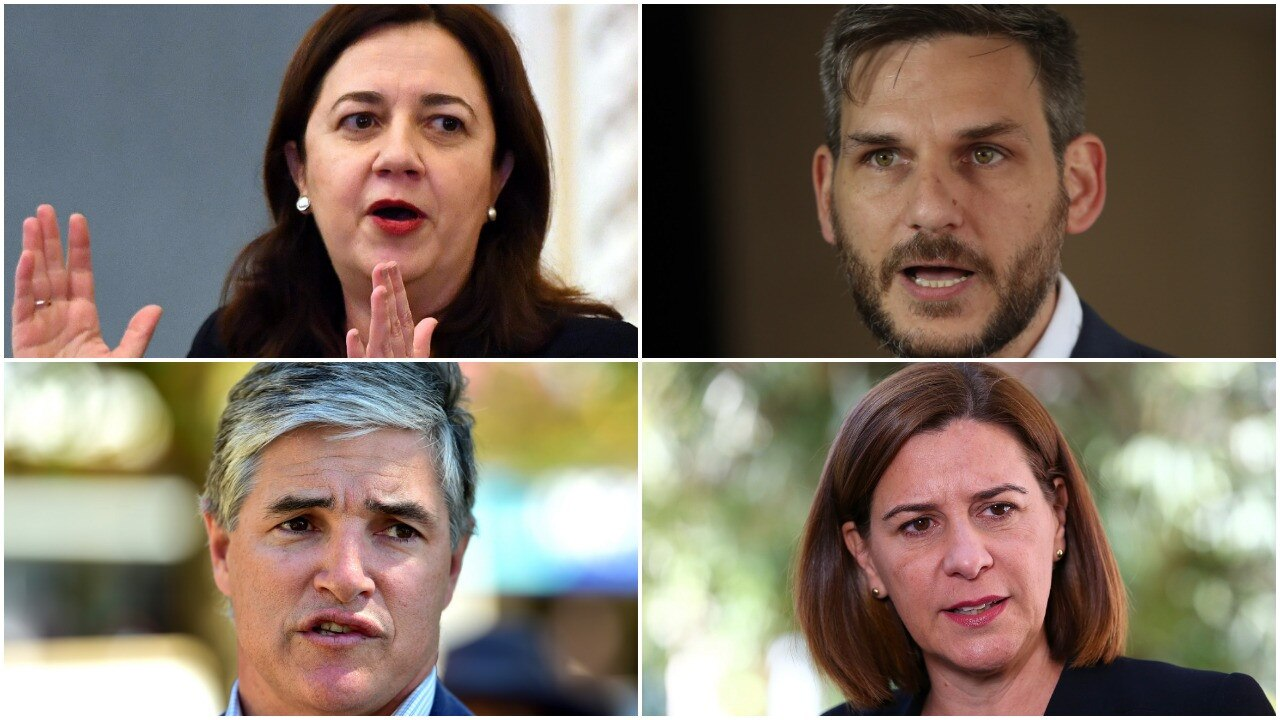Collage of Queensland political leaders