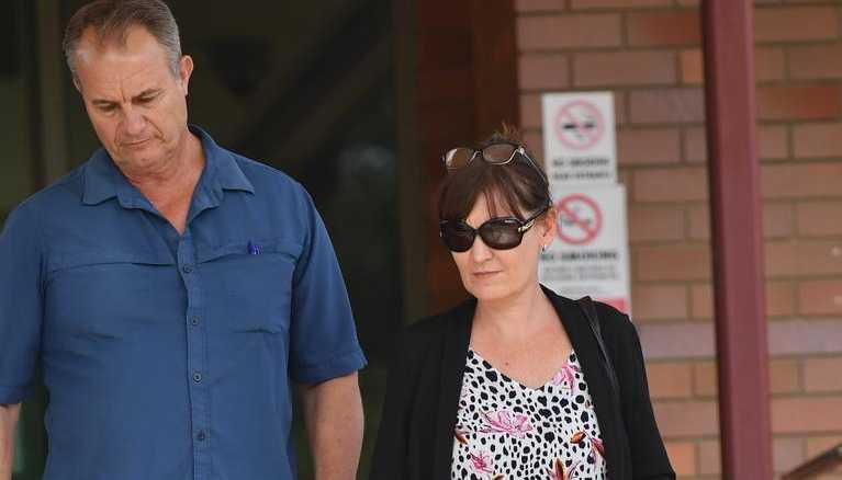 Former Fraser Coast Regional Council CEO Lisa Desmond leaving court.
