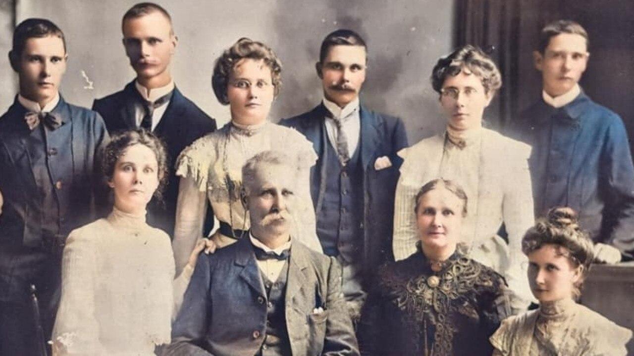 The Atherton family.