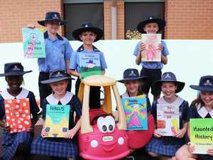 Coast students donate books they wrote to sick children