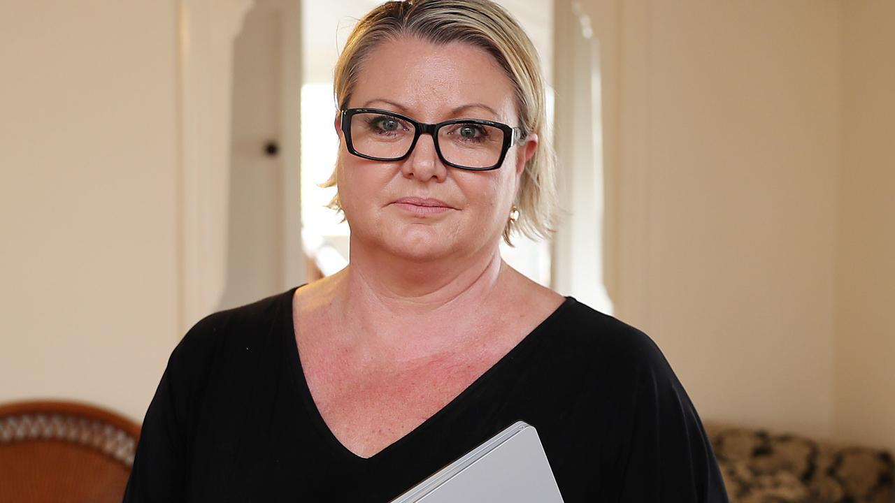 Concerned Brisbane mother Libby Marshall.