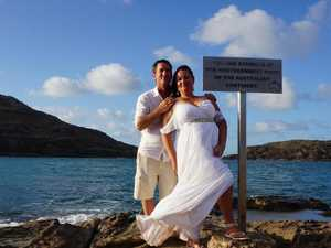 'Pretty special': Couple ties knot at the tip of Cape York