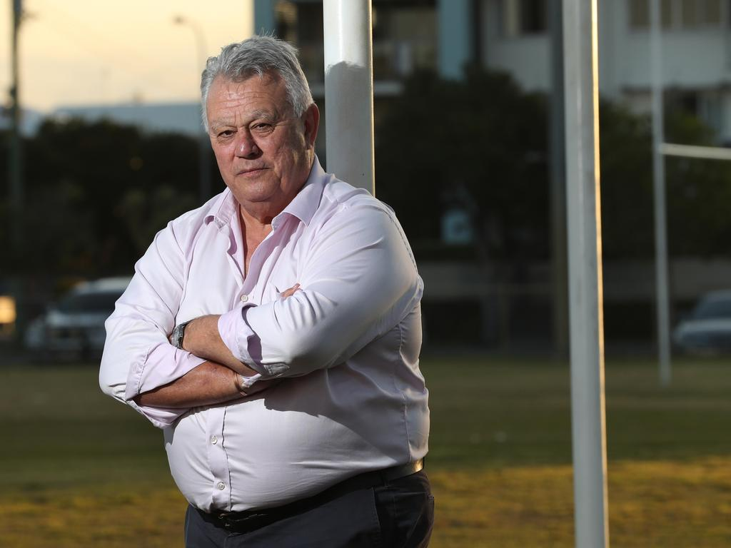Former Wallabies coach John Connolly says he is pretty content as a Sunshine Coast councillor but wouldn't rule out an unlikely Wallabies return. Photo: Lyndon Mechielsen