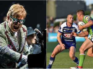 EXCLUSIVE: How Elton John cost Coffs Harbour an NRL game