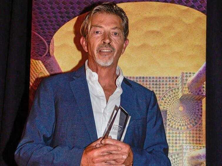 FESTIVAL: Angus McDonald with his Best Byron Short Film Award