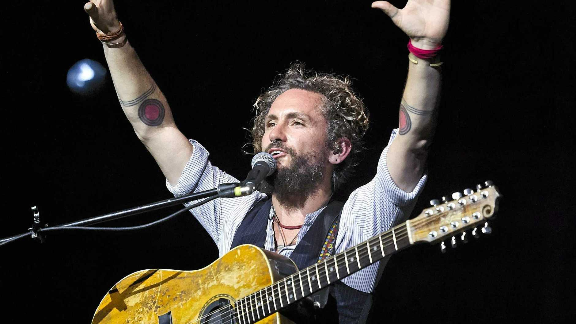 TOP LINE-UP: John Butler will hit the stage next week for the Airlie Beach Festival of Music.
