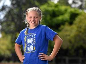 Ipswich girl named marathon ambassador after cancer battle