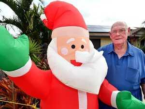 FESTIVE: Christmas lights are already going up around Coast