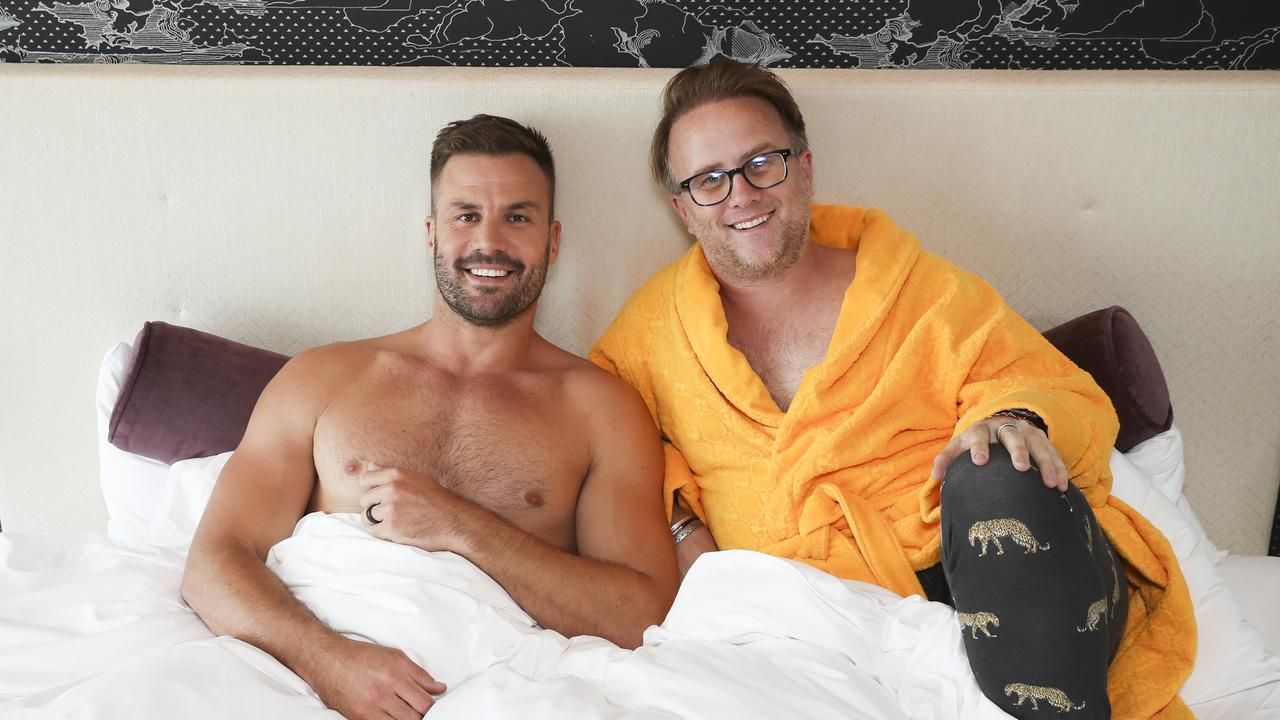 Beau Ryan at The Darling for an In Bed With JMo interview. Picture: Dylan Robinson