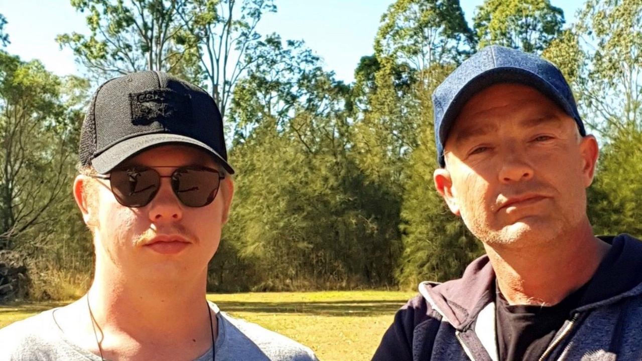 SPOOKY SEASON: Andrew Green and James Webb are South Burnett Paranormal Investigators.