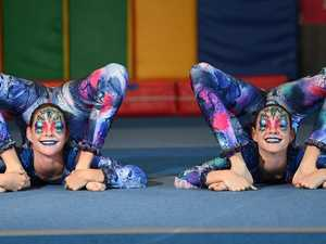 Contortion twins turn heads in Qld's first circus festival