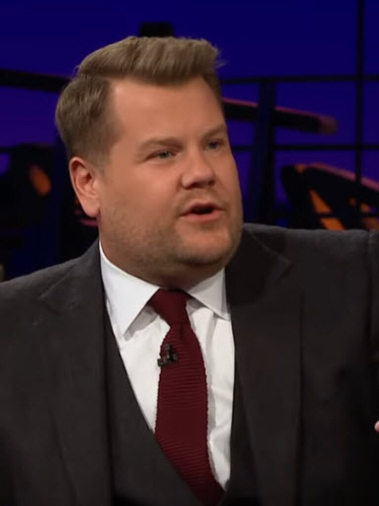 Corden seemed stunned.
