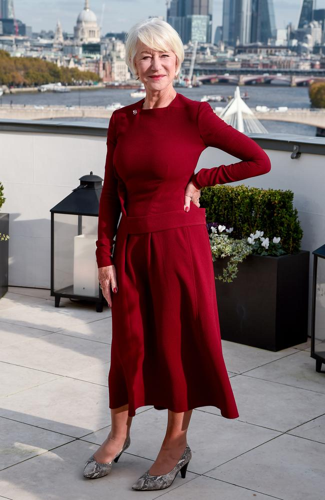 Dame Helen Mirren. Picture: Eamonn M. McCormack/Getty Images for Warner Bros