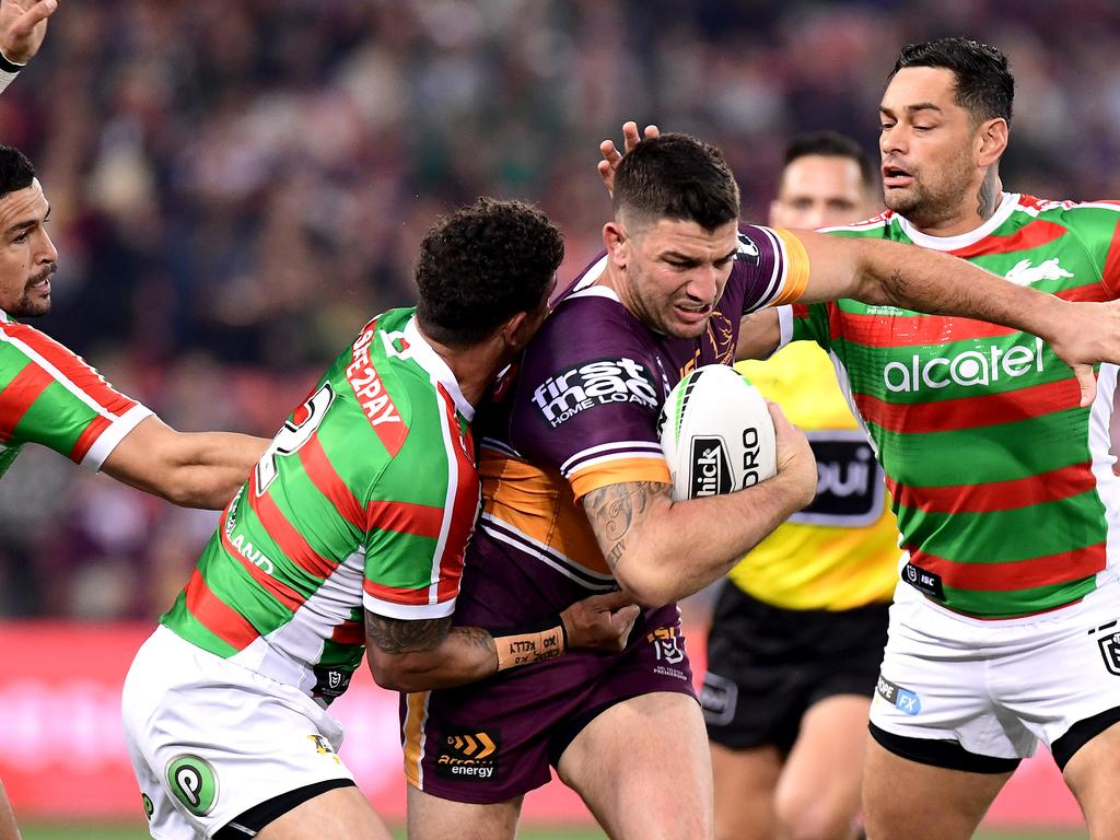 Brisbane Broncos stalwart Matt Gillett will retire today. Photo: Bradley Kanaris/Getty Images