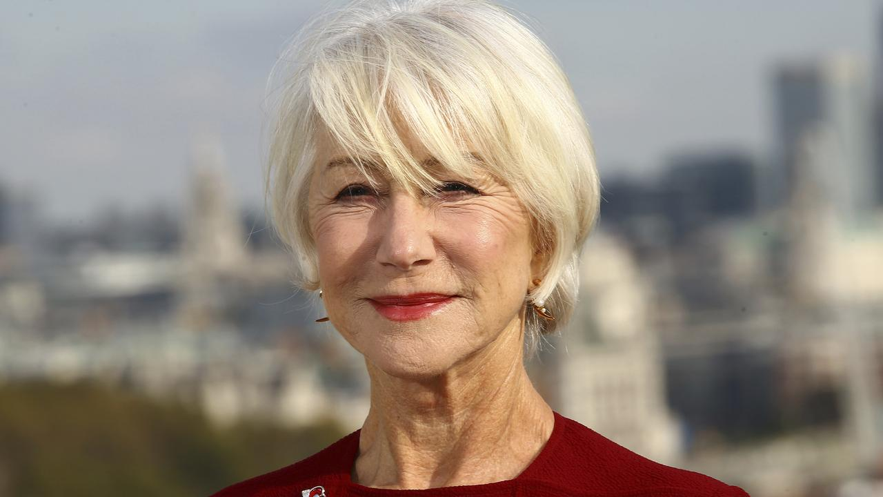 Actress Dame Helen Mirren. Picture: Joel C Ryan/Invision/AP