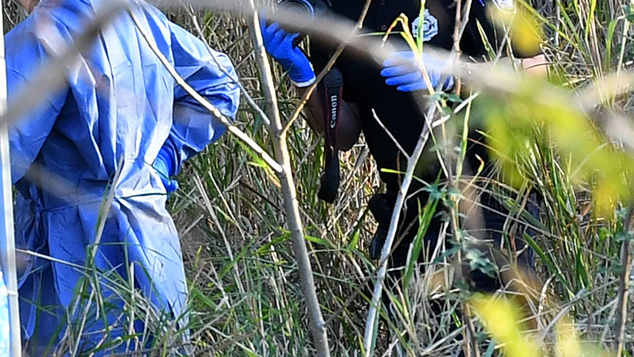 Bones, believed to be human, found at a property near Toowoomba. File picture