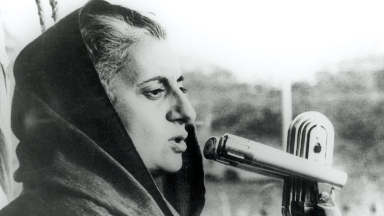 Indian Prime Minister Indira Gandhi, who died on this day in 1984.