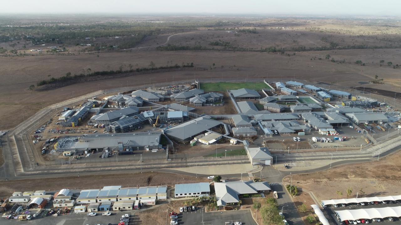 WORK PROGRESSING: Queensland Corrective Services have shared time-lapse drone images capturing the construction progress for the expansion of the Capricornia Correctional Centre.