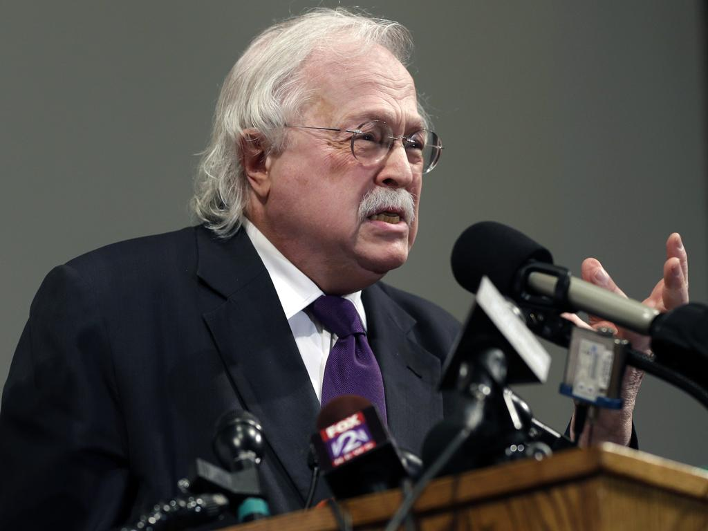 Forensic pathologist Dr Michael Baden … Epstein's death 'may have been murder'. Picture: AP