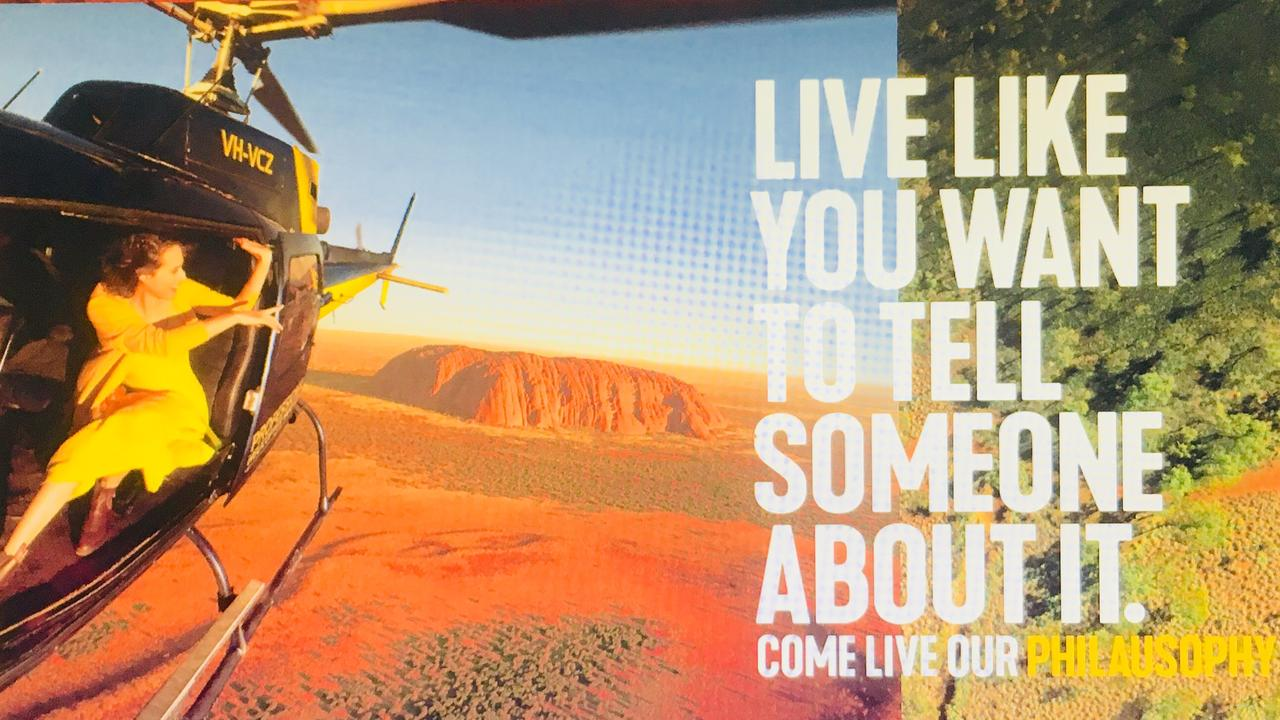 Tourism Australia's campaign urges tourists to experience the Aussie way of life and will feature Uluru