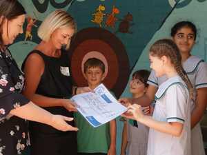 Students dig deep to help disadvantaged kids