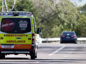 Seven people hospitalised in head-on collision