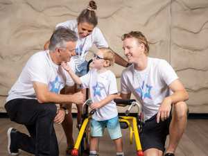Aussie sporting legends tackle charity bike ride