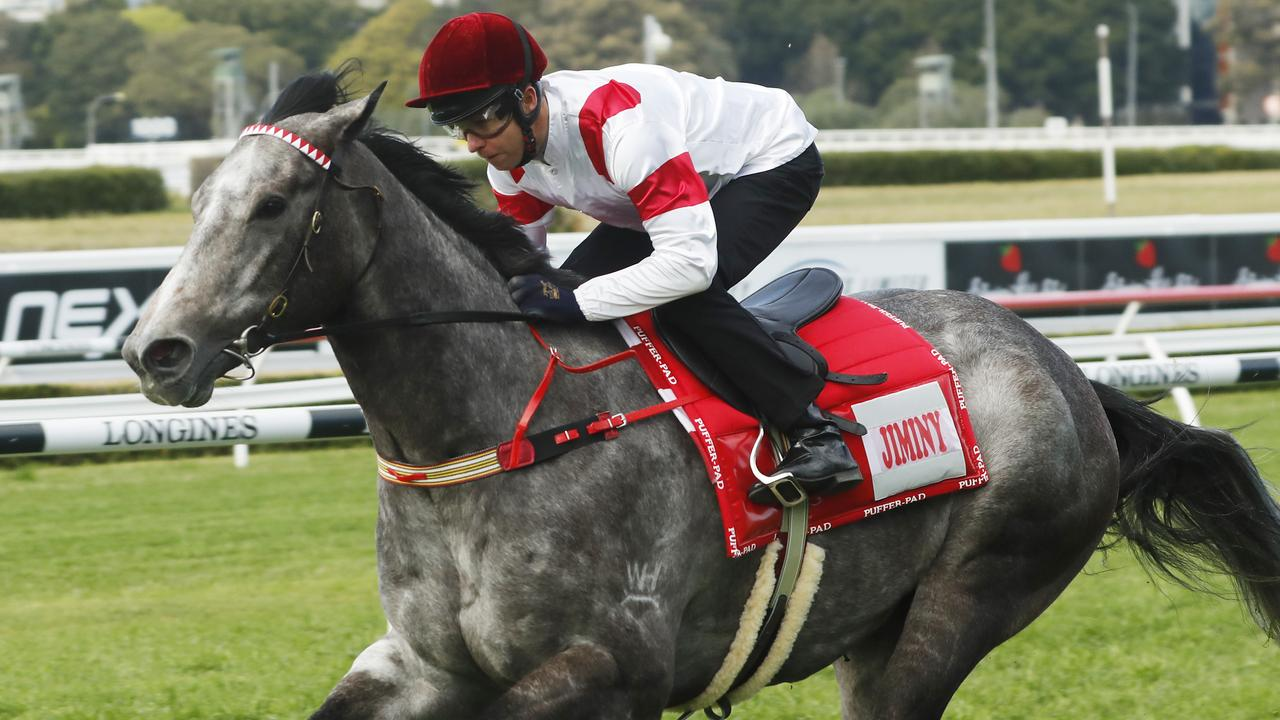 Classique Legend is lining up in the Golden Eagle after running a luckless sixth in The Everest. Picture: Getty Images