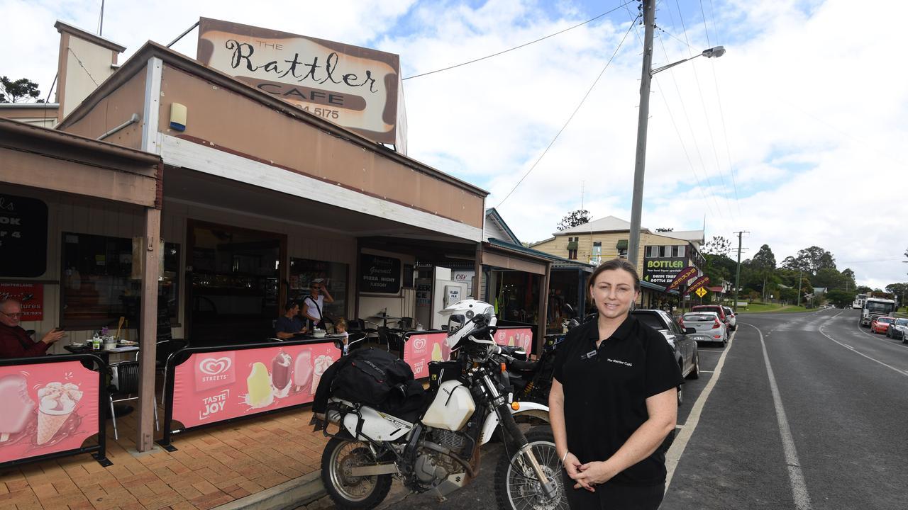 Rattler Cafe owner Loretta Shaw