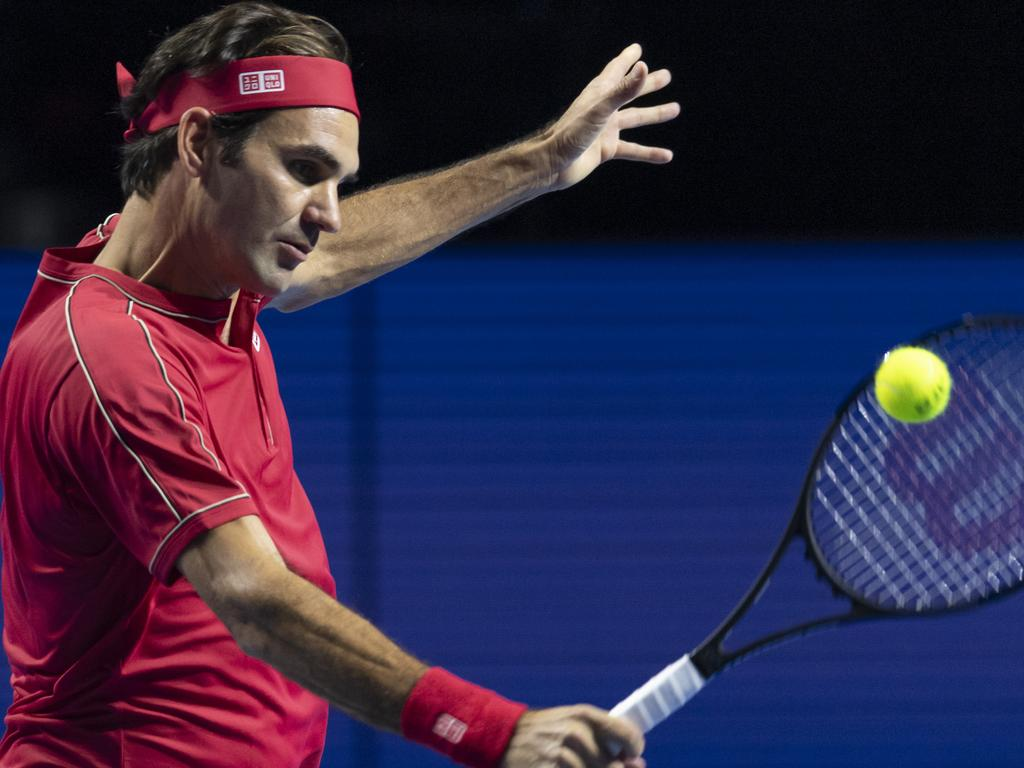 Roger Federer won't be strutting his stuff in the Harbour City.