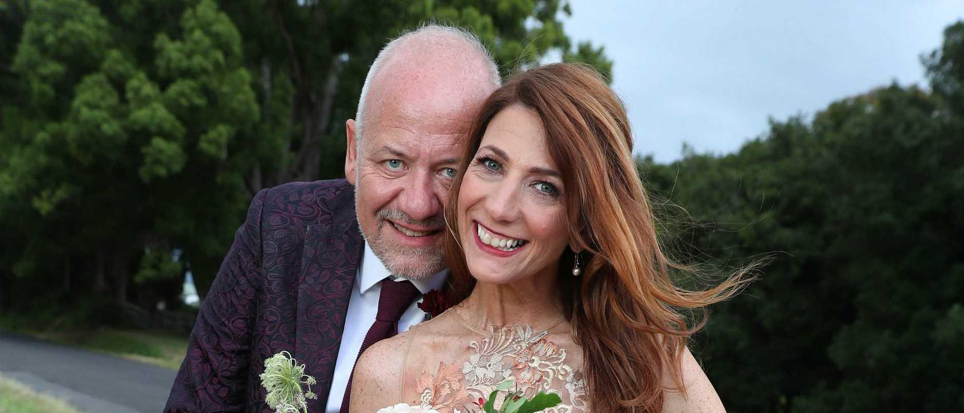 Robin Bailey's wedding to Sean Pickwell.