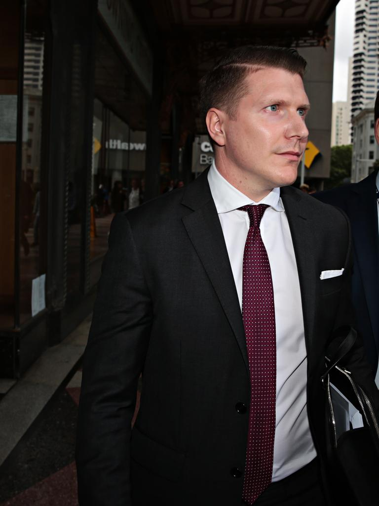 Matthew Holberton left town after the abuse began. Picture: Adam Yip