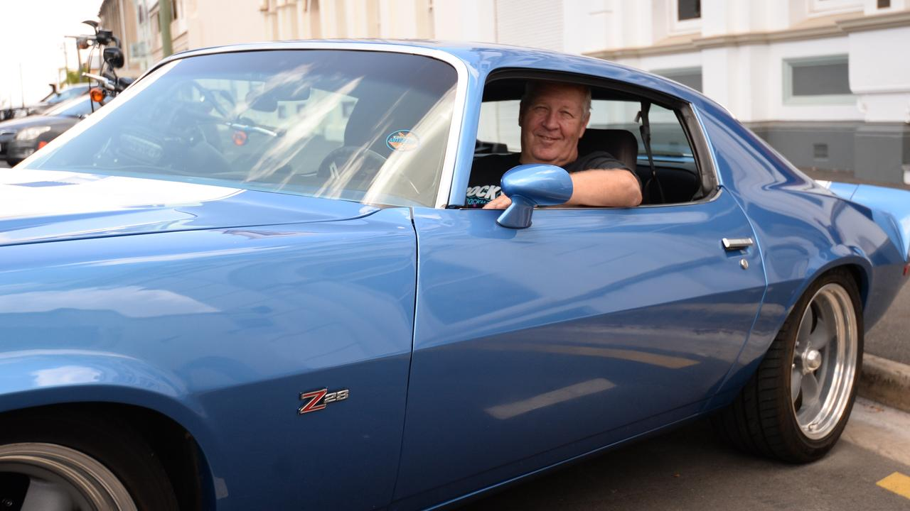 ROCKYNATS READY: Brett Hogg is gearing up for next year's motor event