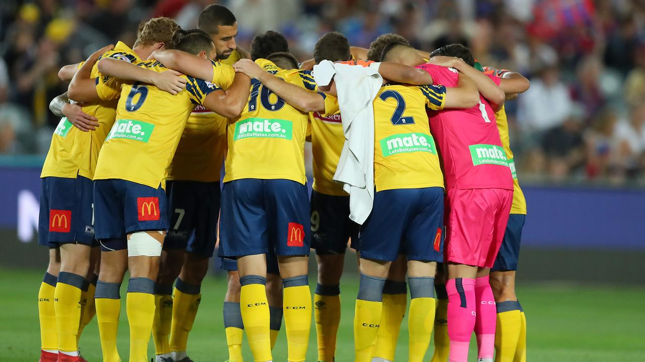 The Mariners are the lowest ranked Australian team. Picture: Getty Images