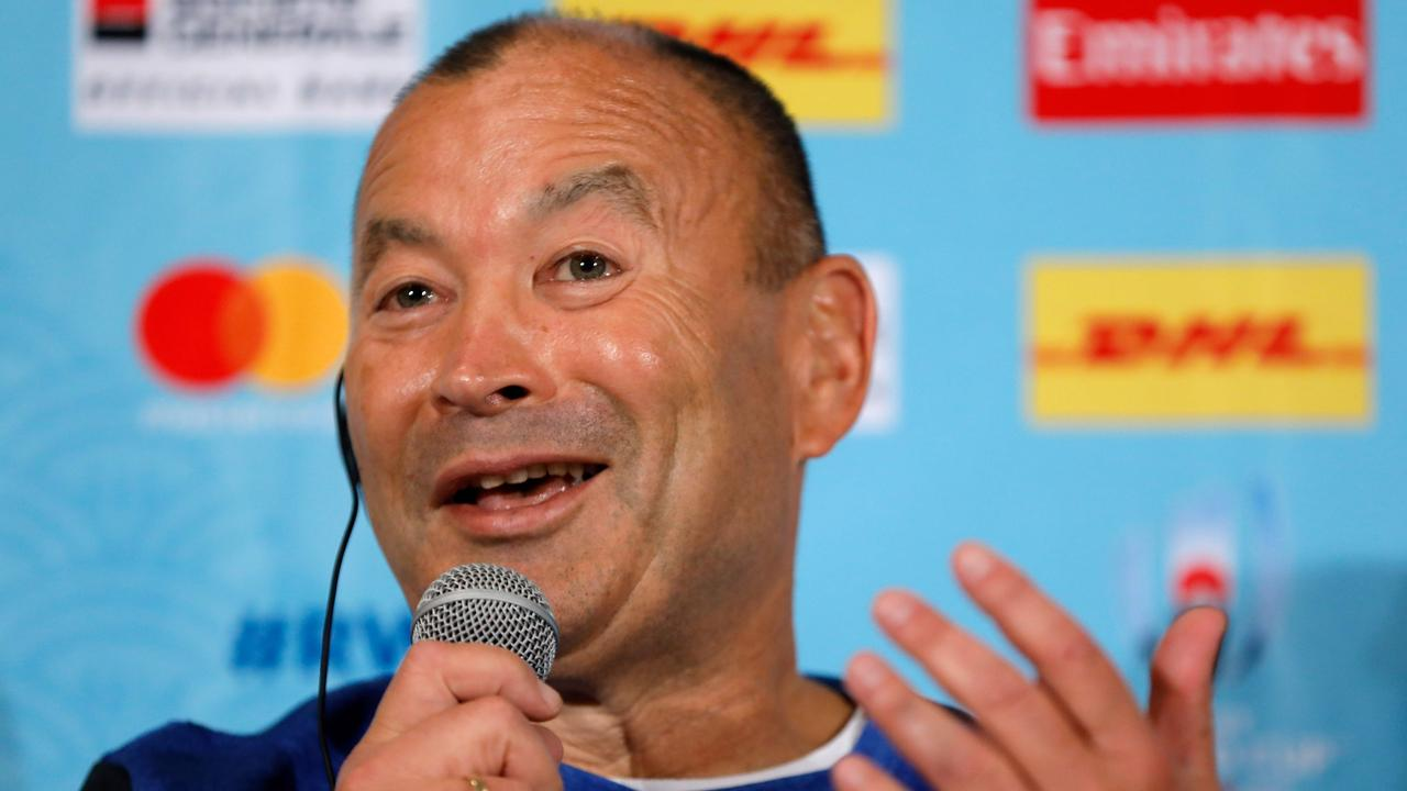 England coach Eddie Jones is always looking to be ahead of the game. Picture: AFP