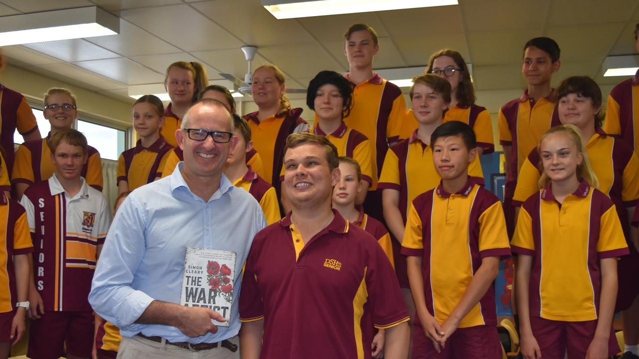 Dalby State High School students will bring Simon Cleary's novel to life as they perform their original songs on Friday.