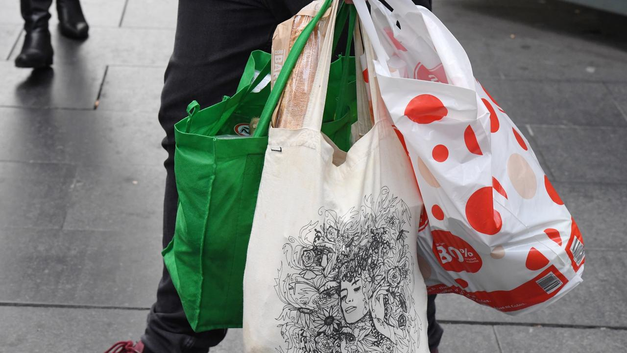 Victoria's plastic bag ban kicks in on Friday. Picture: Peter Rae/AAP