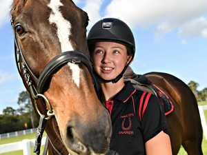 Local rider jumping through ranks to TV series