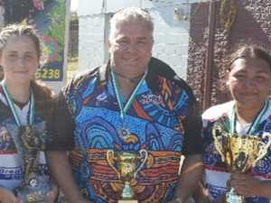 Girls knock out three-year champions at indigenous carnival
