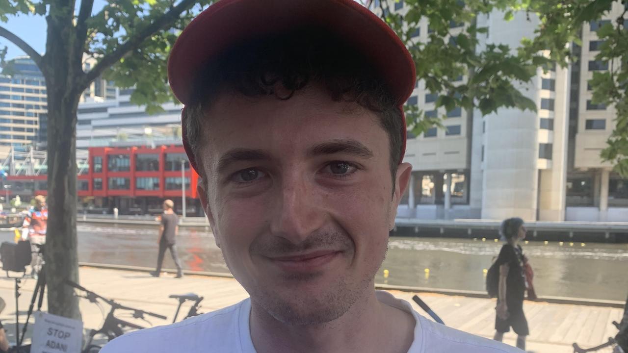 Liam Parry, 27, Darwin.