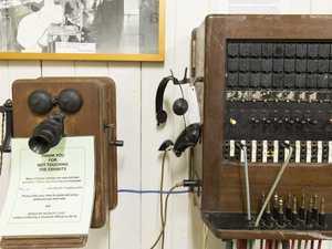 Step back in time with vintage telephone exchange display