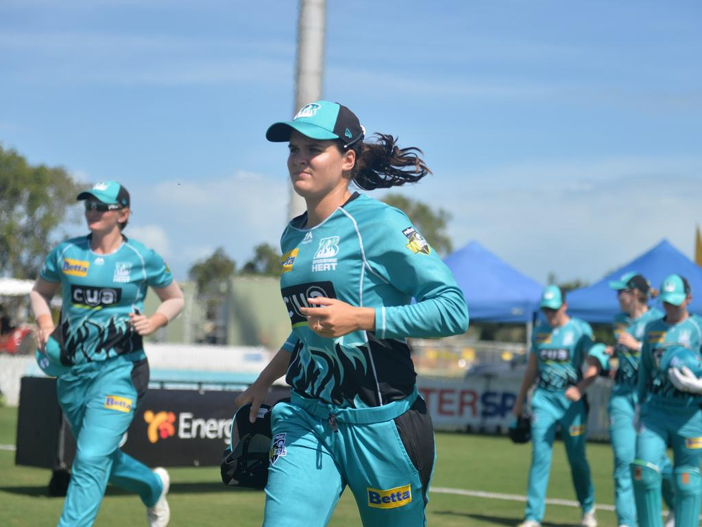 Brisbane Heat return to Mackay for another action-packed weekend of cricket (Picture: Contributed).