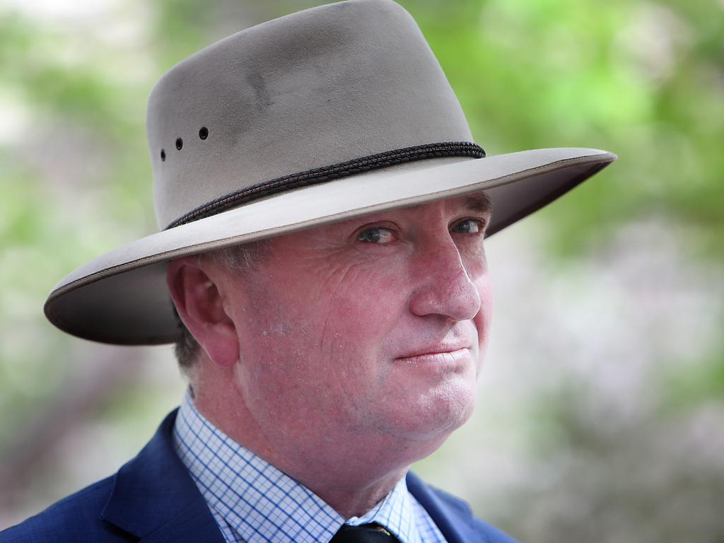 Barnaby Joyce. The former Nationals leader still has leadership aspirations and could become a key figure in the party once again, writes Paul Williams. Picture: Kym Smith