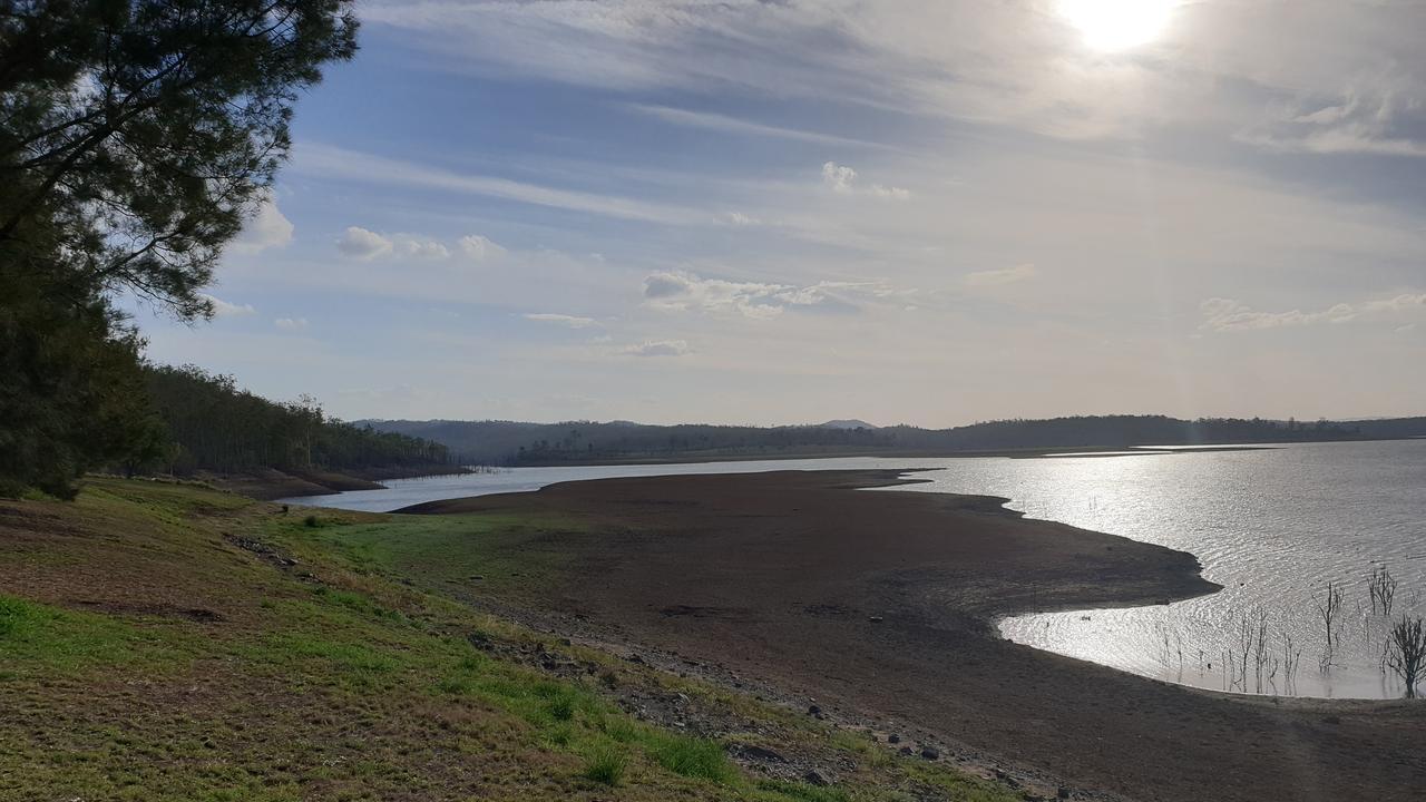 Paradise Dam on October 29.